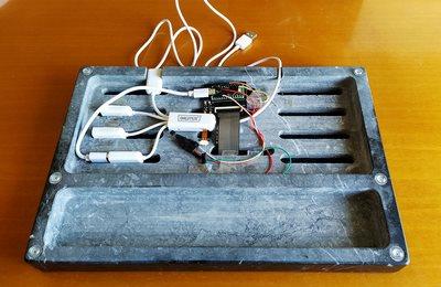 Bottom wiring