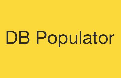 DB Populator